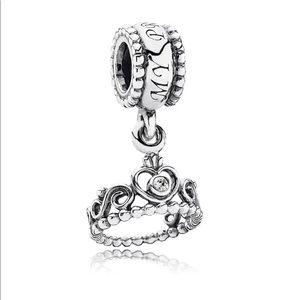791117cz Pandora My Princess Tiara Charm